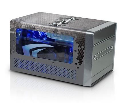 Shuttle SDXi Carbon: мощный компактный ПК, охлаждаемый водой