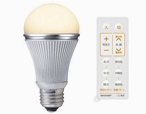 Японцы выпустили лампочку с дистанционным управлением